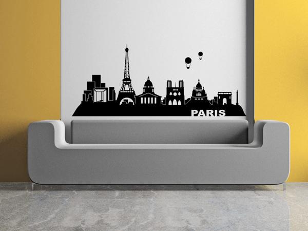 Wandtattoo Paris