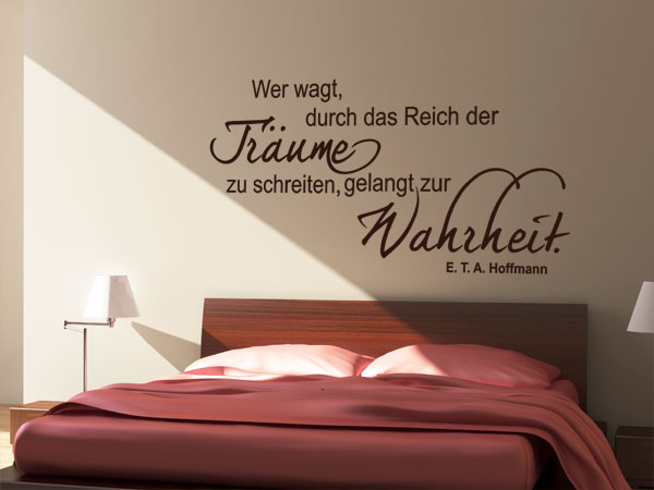 wandtattoo zitate. Black Bedroom Furniture Sets. Home Design Ideas