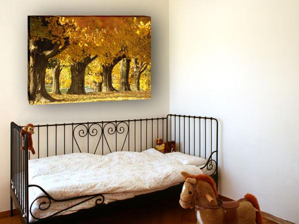 Kinderzimmer Leinwand vom Foto