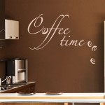 "Wandtattoo ""Coffee Time"""