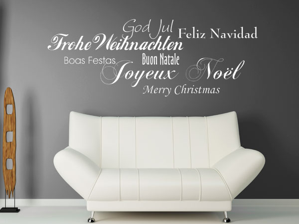 wandtattoo weihnachtsdeko. Black Bedroom Furniture Sets. Home Design Ideas