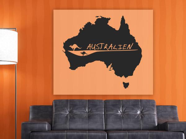 Australien Wandtattoo