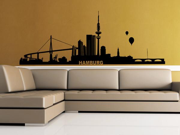 Hamburg Wandtattoo