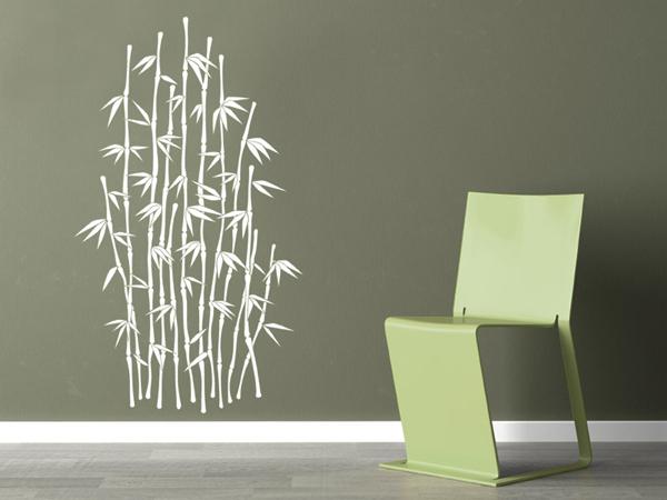 Wandtattoo Pflanze Bambus