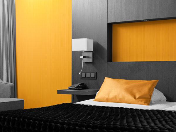 Schlafzimmer Kontraste