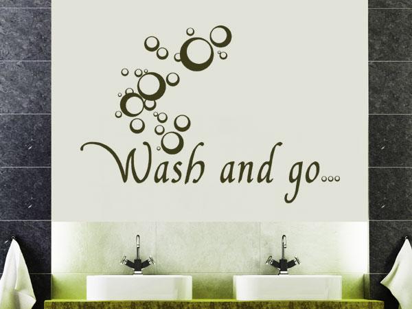 """Wand Tattoo """"Wash and go"""""""