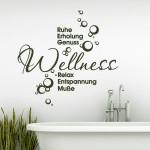 Wand Tattoo Wellness Oase