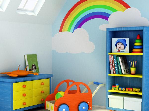 Wandgestaltung babyzimmer - Kinderzimmer ideen wandgestaltung ...